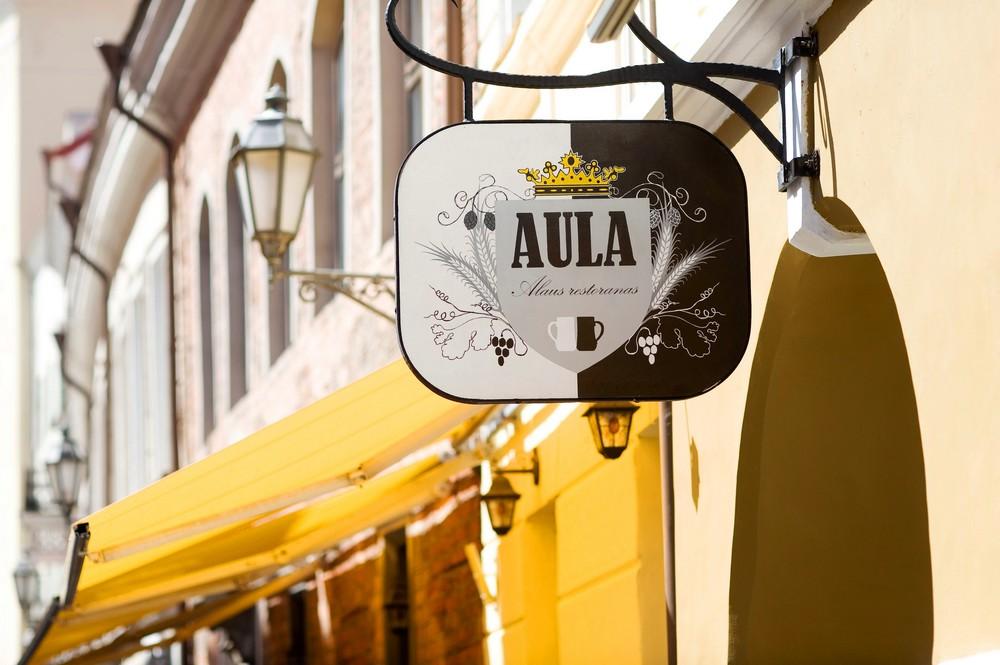 """Ресторан """"Aula"""" в Вильнюсе"""