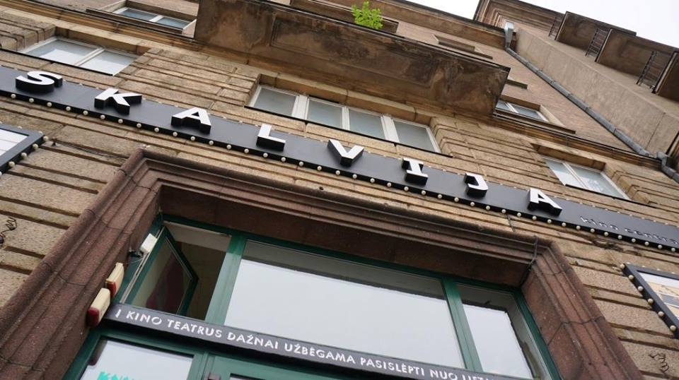 Кафетерий «Gyva planeta» в киноцентре «Skalvija», Вильнюс