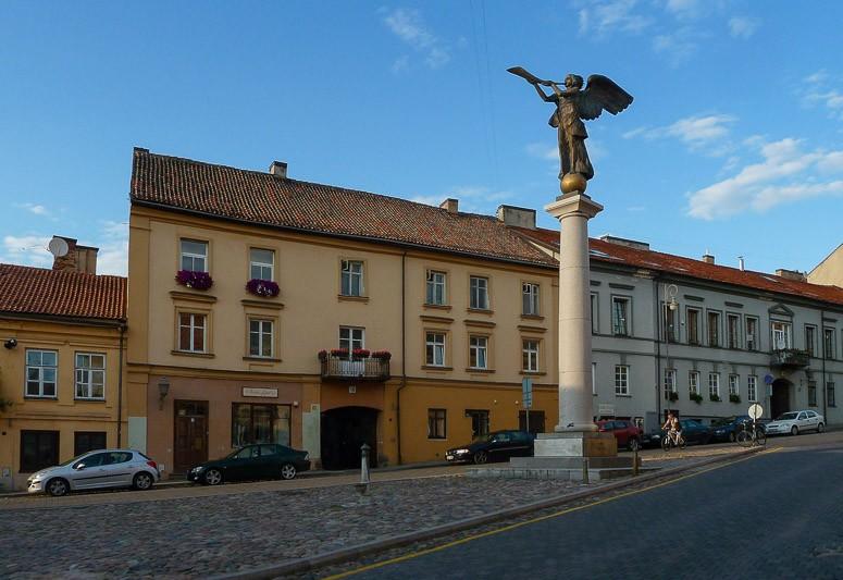 Ангел на центральной площади, Ужупис