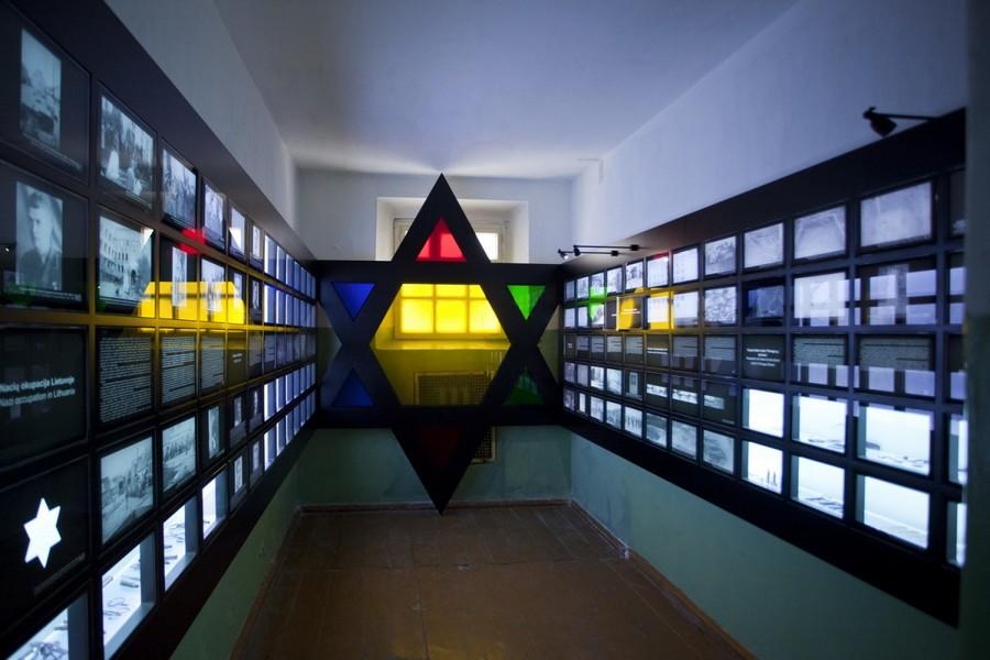 Камера, посвященная нацистской оккупации и холокосту