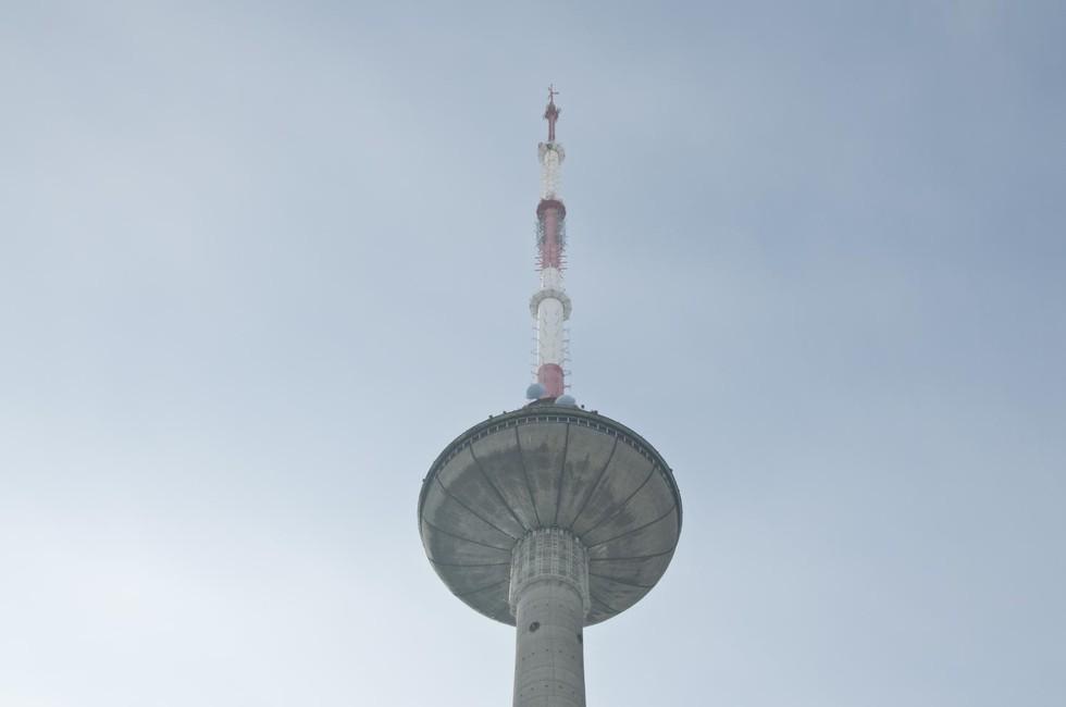 Верхушка телебашни, Вильнюс