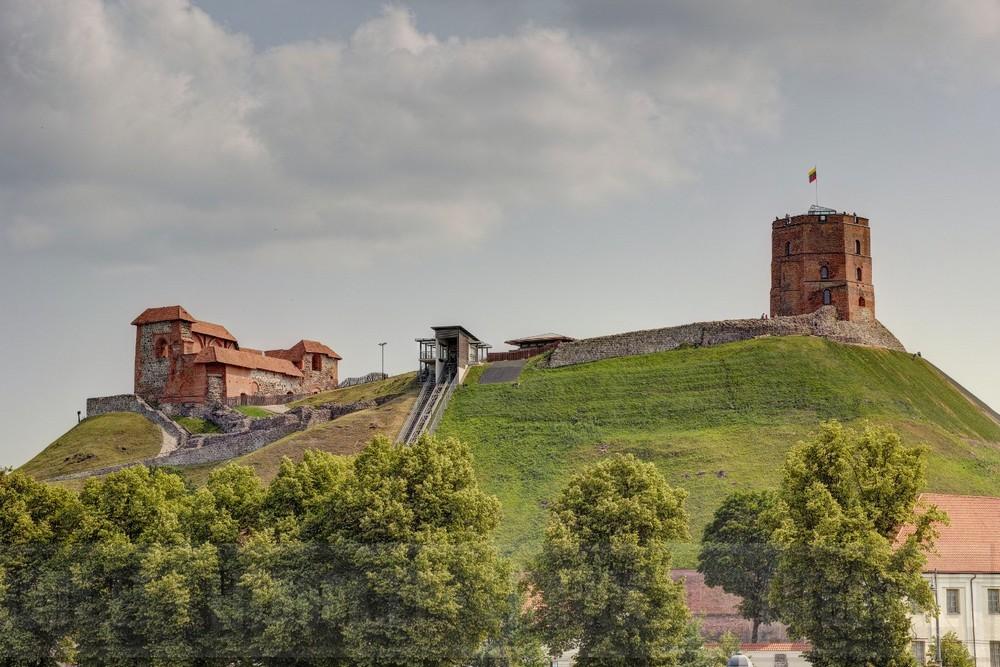 Гора Гедимина: башня, крепость в Вильнюсе