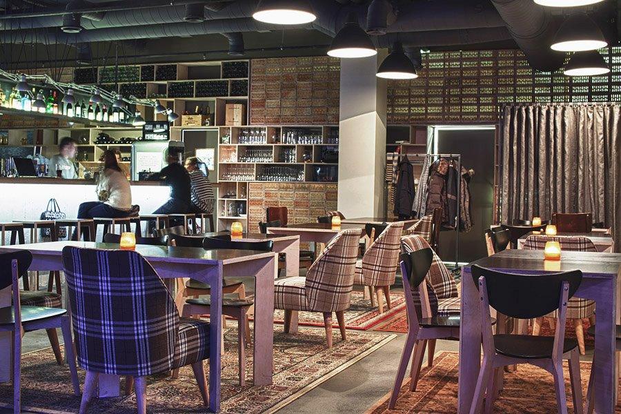 Чаевые в ресторане в Вильнюсе
