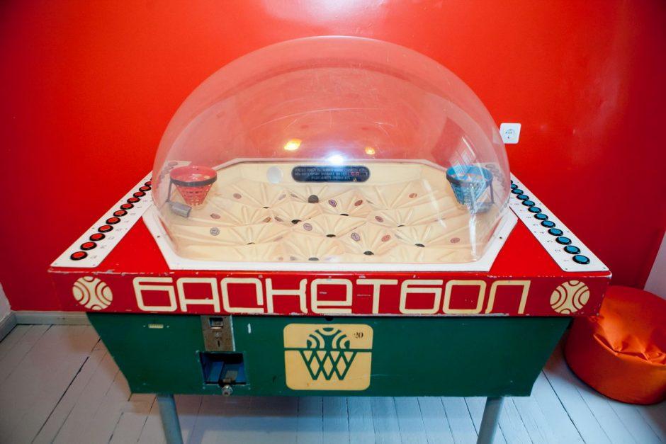 Старинный баскетбол