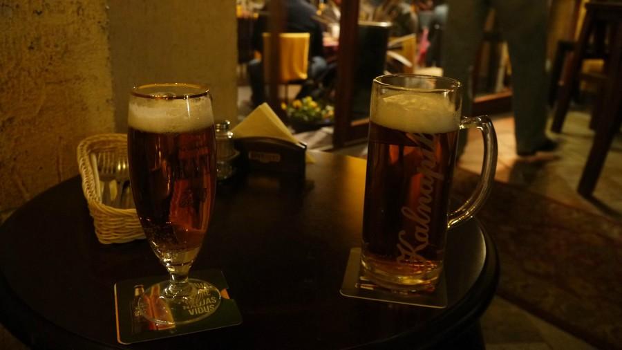 Пиво, ресторан Amatininkų užeiga