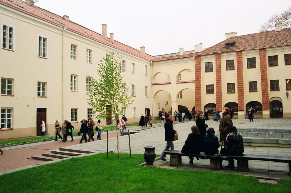 Вильнюсский университет, студенты