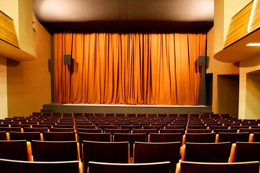 Зал государственного молодежного театра Литвы