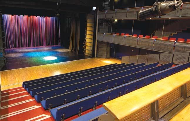 Зал 2 государственного молодежного театра Литвы