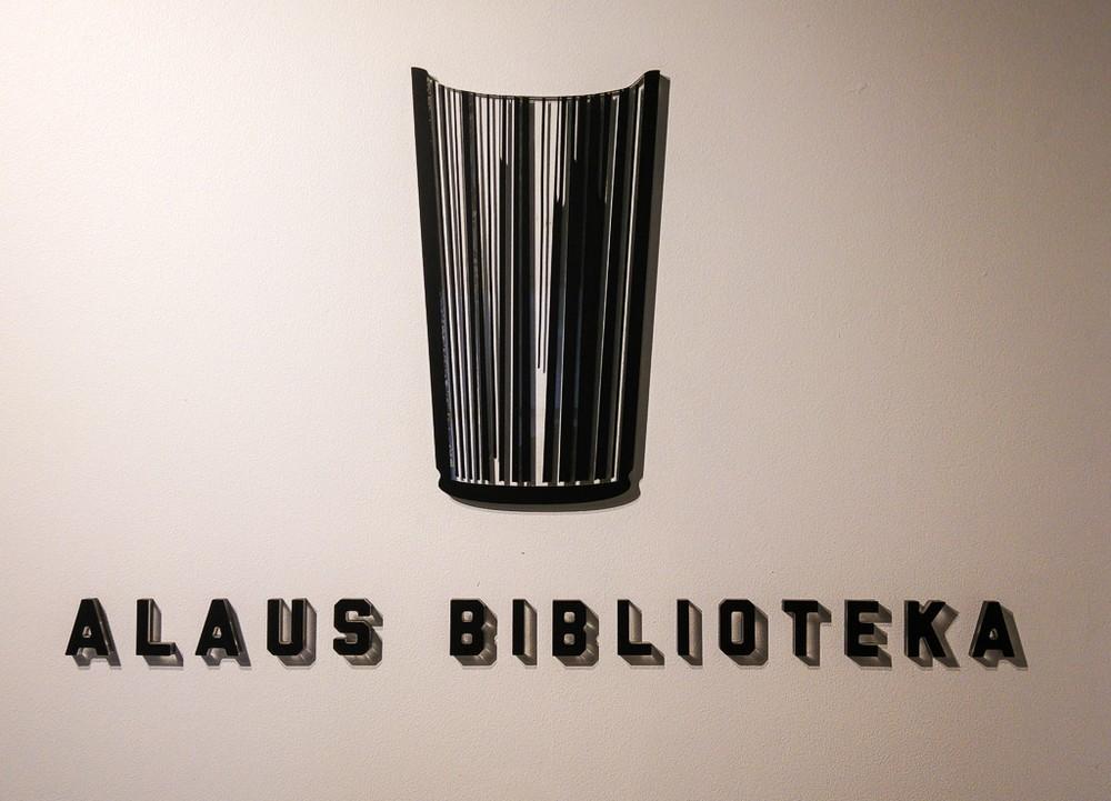 """Символ заведения """"Библиотека пива"""", Вильнюс"""