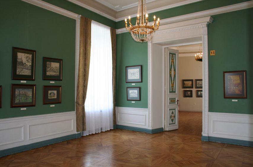 Зал картинной галереи, Вильнюс