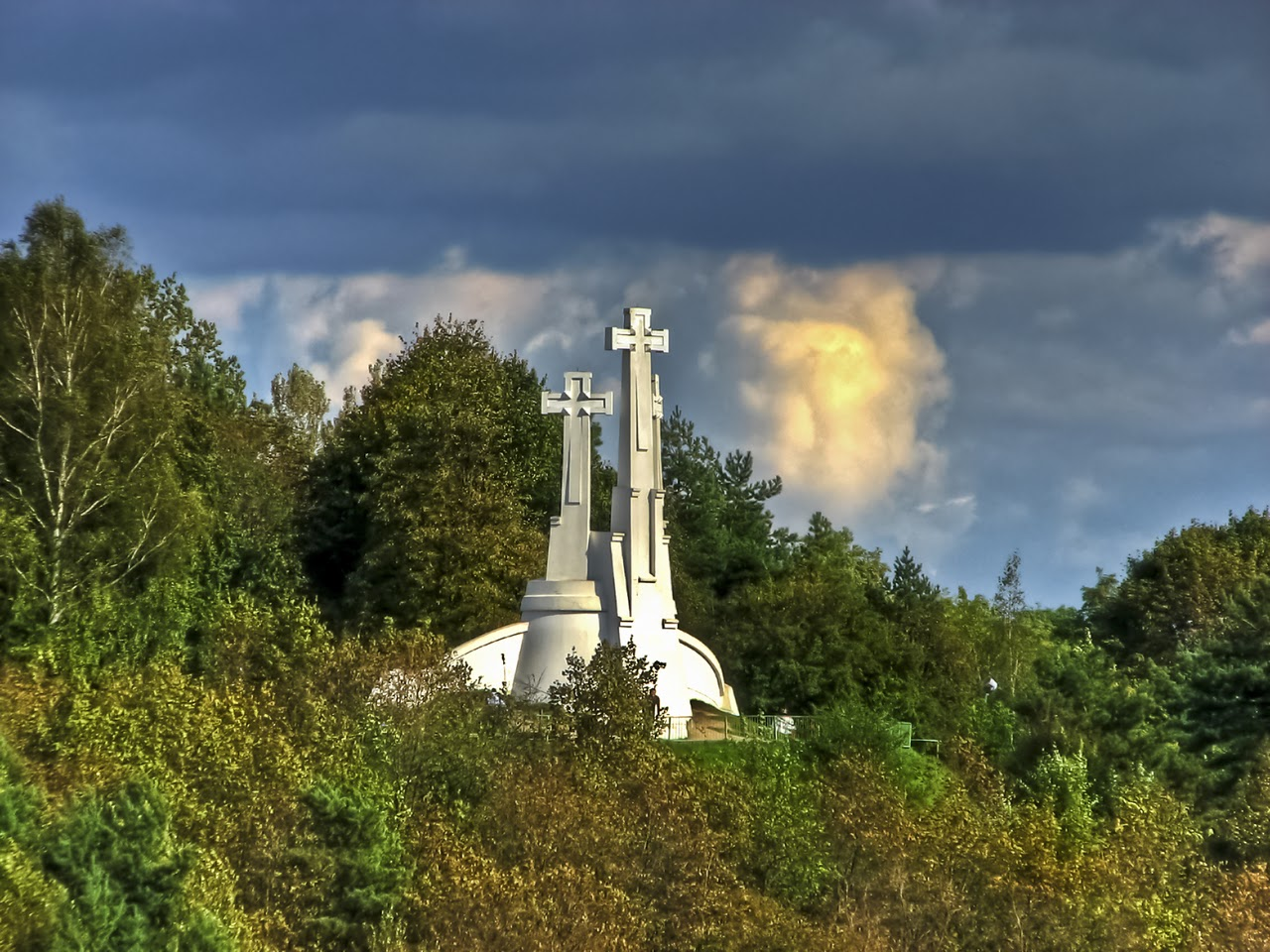 Гора Трех крестов в Вильнюсе
