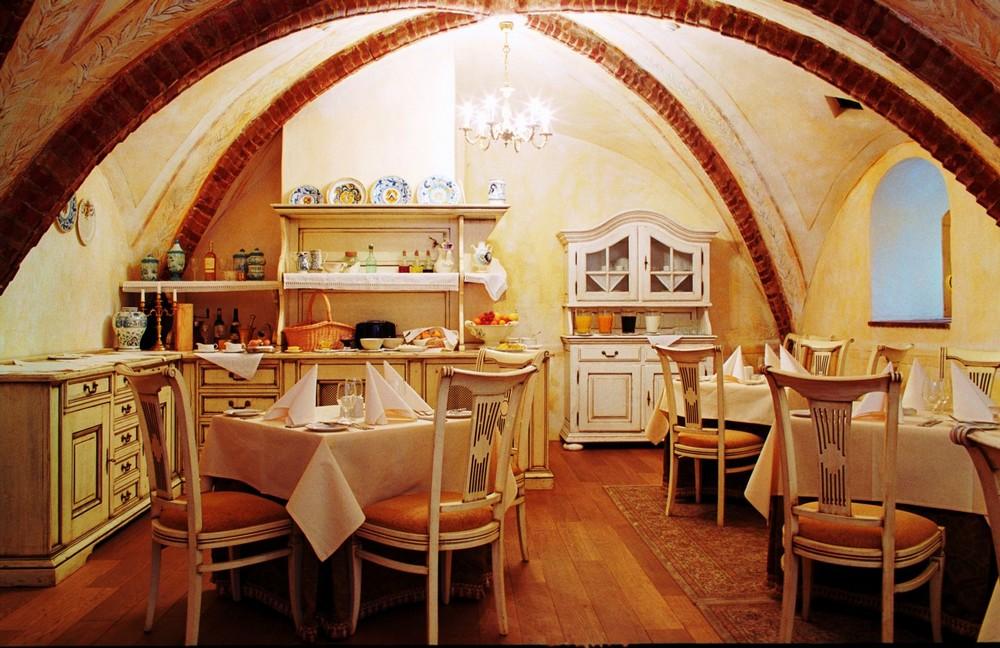 Интерьер ресторана Мядининкай