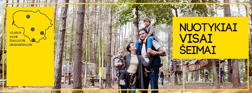 UNO parkas - Парк приключений в Вильнюсе