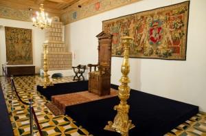 Интерьер дворца Великих князей литовских