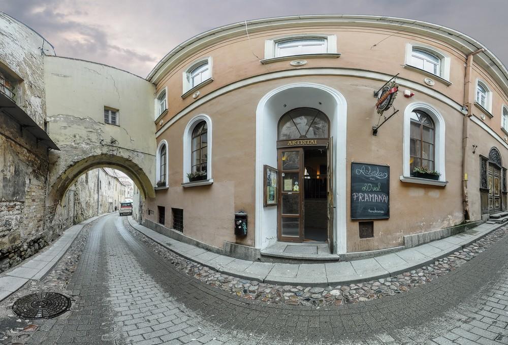 Клуб Artistai, Вильнюс