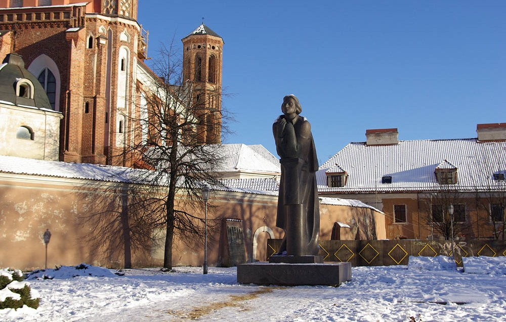 Памятник Адаму Мицкевичу, Вильнюс
