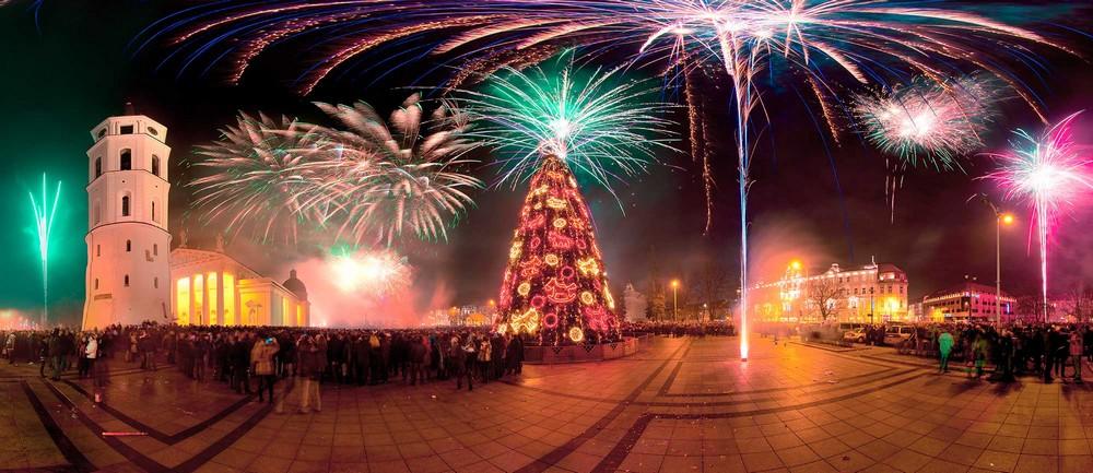 Как провести Рождество и Новый год в Вильнюсе