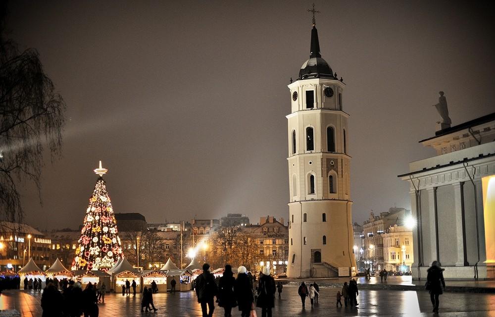 Вильнюс, зима