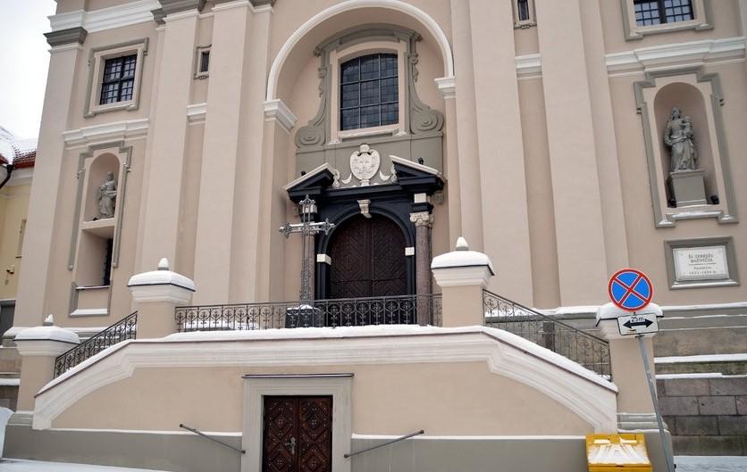 Вход в церковь Святой Терезы, Вильнюс