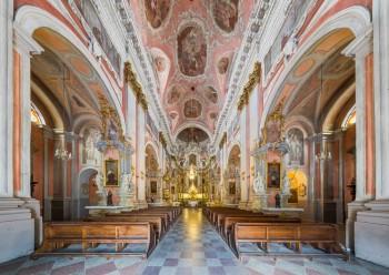 Костел Святой Терезы, Вильнюс, интерьер
