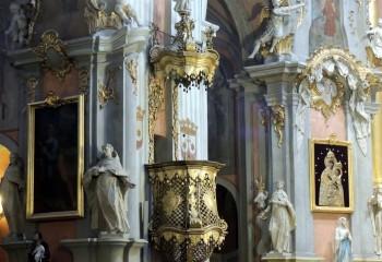 Убранство, внутри костела