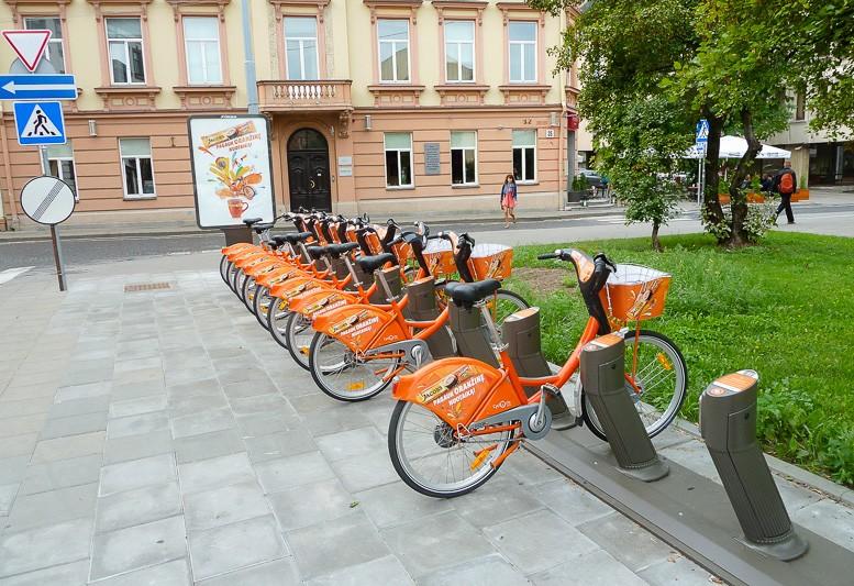 Аренда велосипедов и сигвеев в Вильнюсе