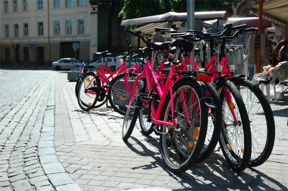 Аренда велосипедов, Вильнюс