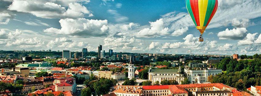 3-х часовая прогулка на воздушном шаре по Вильнюсу