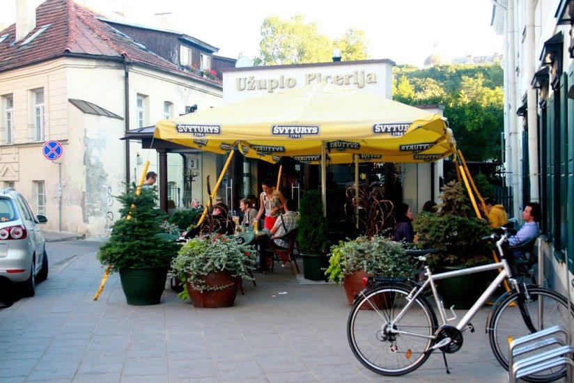 Фаст-фуд в Вильнюсе, где быстро и вкусно перекусить