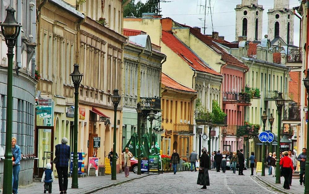 Вильнюс, лето