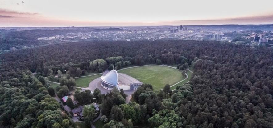 Парк Вингис, Вильнюс - адрес, схема