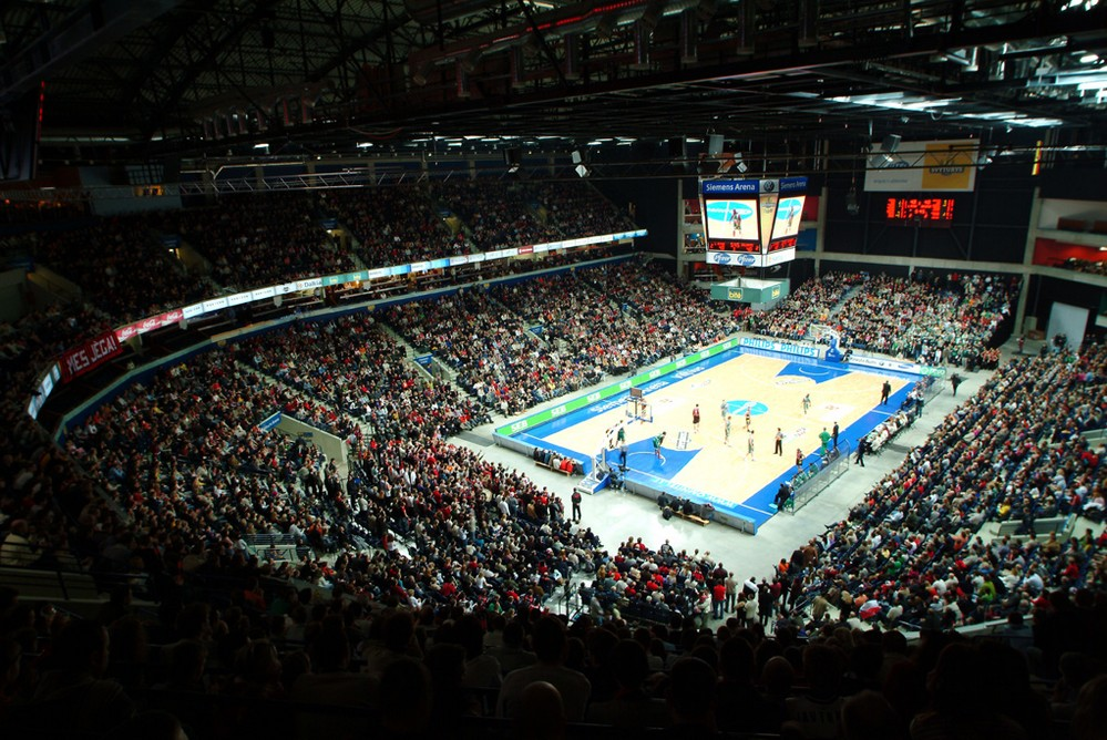Баскетбол, сименс арена, Вильнюс