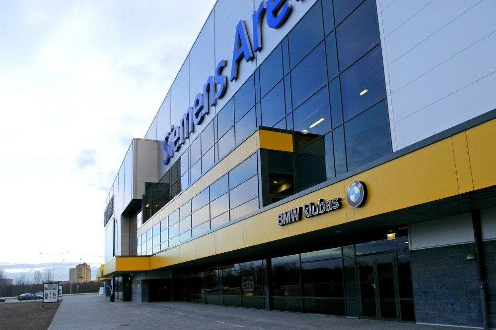 BMW клуб, сименс арена, Вильнюс