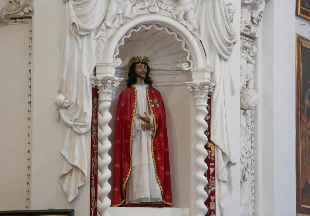 Скульптура Иисуса Христа