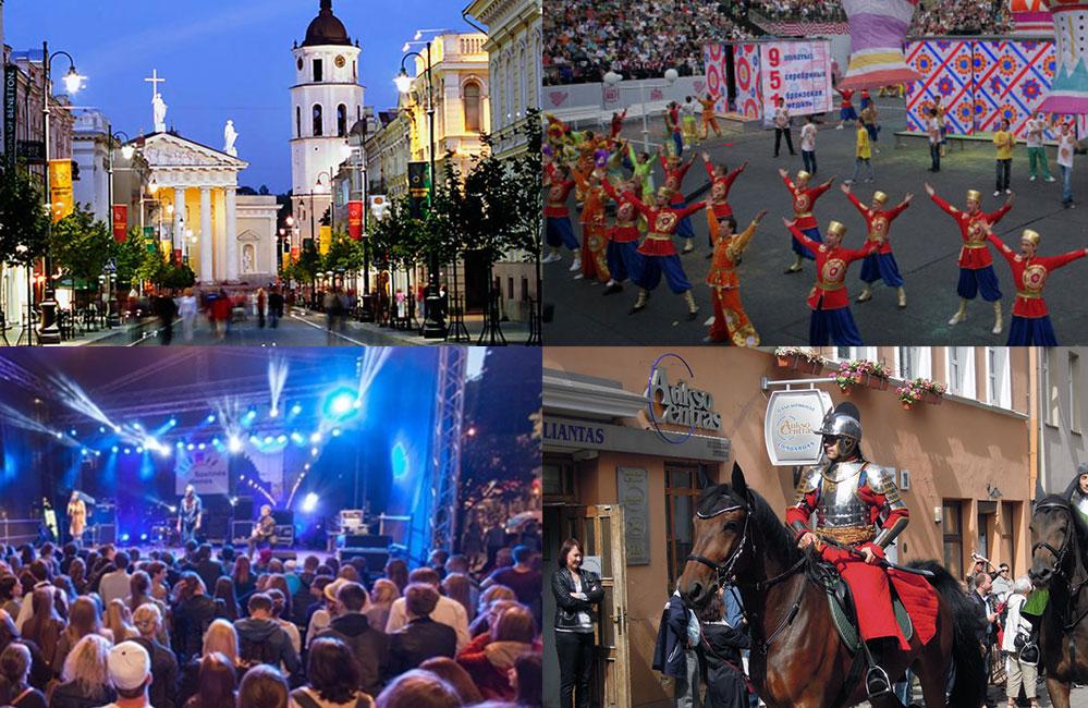 День города в Вильнюсе
