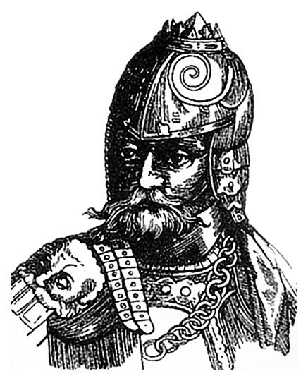 Великий литовский князь Гедимин