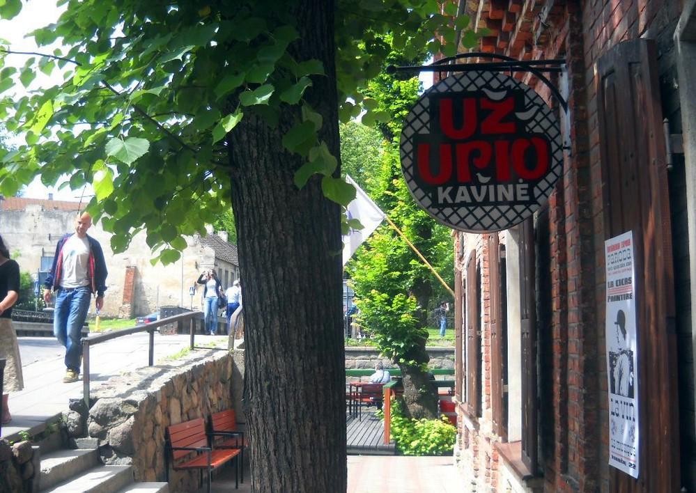 Uzupio kavine в Вильнюсе