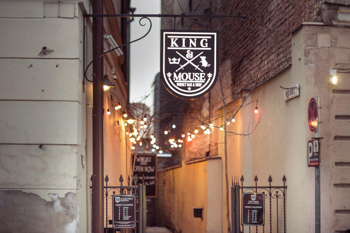 King & Mouse (бар, галерея, магазин и дегустационный зал) в Вильнюсе