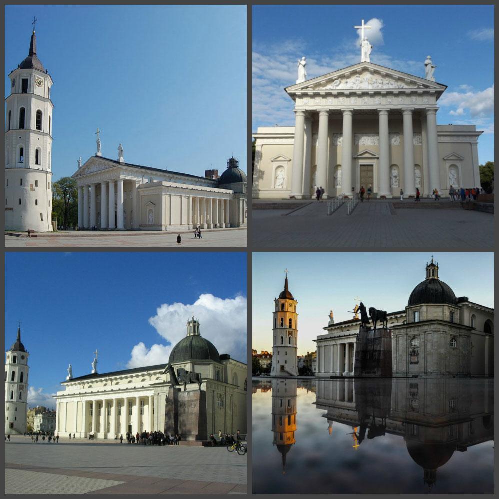 Кафедральная плозщадь Вильнюса