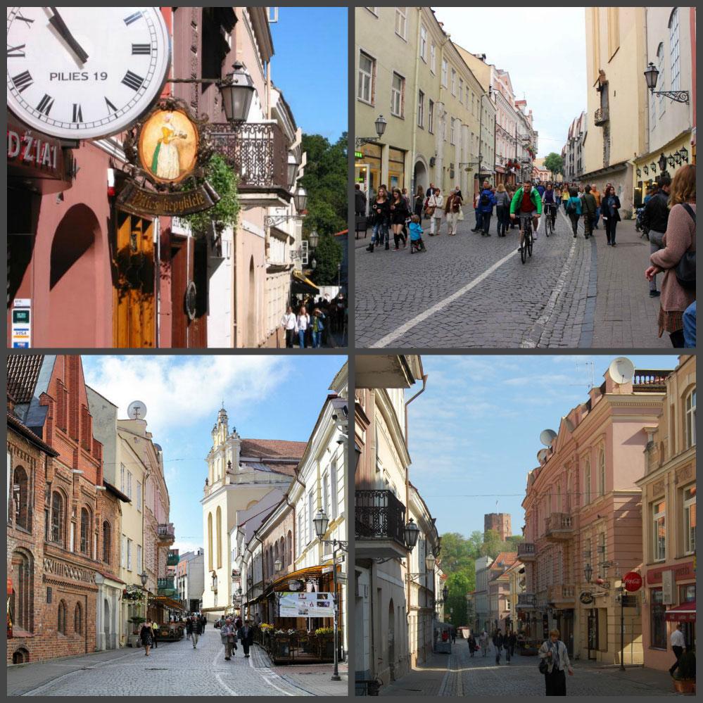 Улица Пилес, Вильнюс