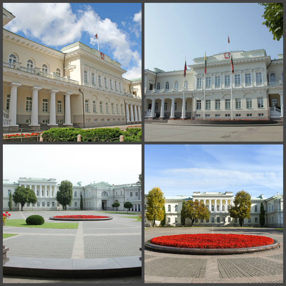 Президентский дворец в Вильнюсе