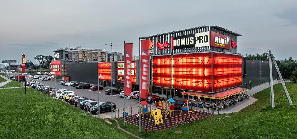 Торговый парк Domus Pro в Вильнюсе