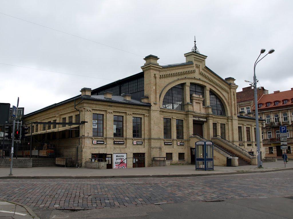 Рынок Hales Turgus в Вильнюсе
