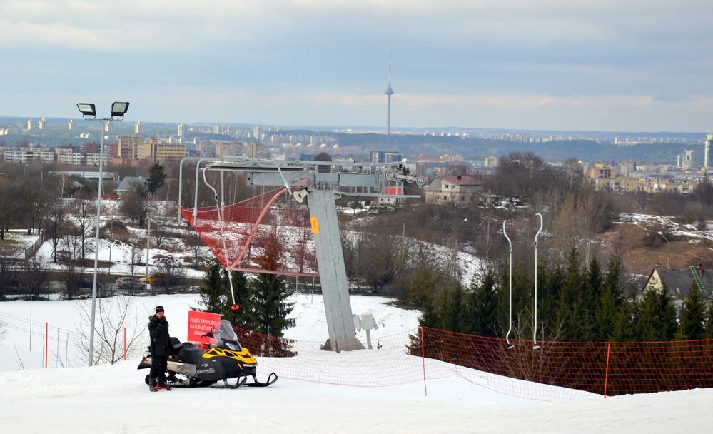 """""""Liepkalnis"""" - горнолыжный курорт в Вильнюсе"""