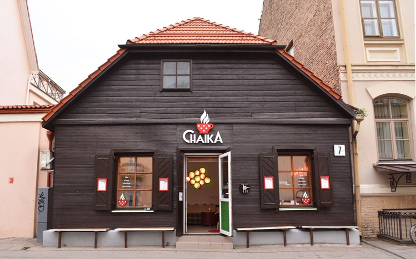 "Кафе ""Chaika"" в Вильнюсе"