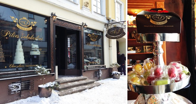 Pilies sokoladine (Шоколадня на улице Пилес) в Вильнюсе