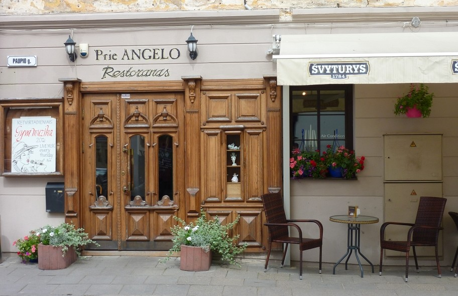 """""""Prie Angelo"""" (У Ангела) - кафе в самом центре Ужуписа"""