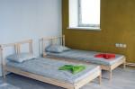 Хостел Vozduh в Вильнюсе, кровати, номер