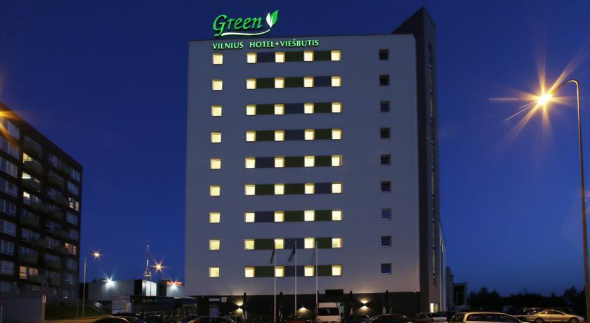 Green Vilnius Hotel 3* — хороший отель в Вильнюсе