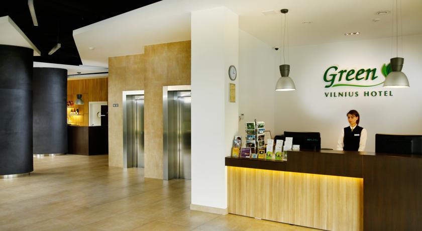 Green Vilnius Hotel, ресепшн